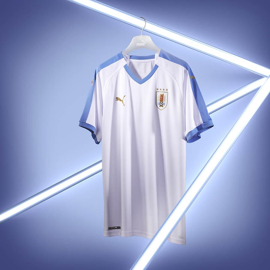 PUMA Football - Nouveaux maillots Uruguay 2019 (La Celeste)