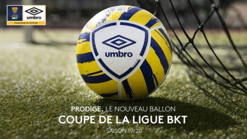 Umbro - Ballon de la Coupe de la Ligue BKT - Saison 2019-2020
