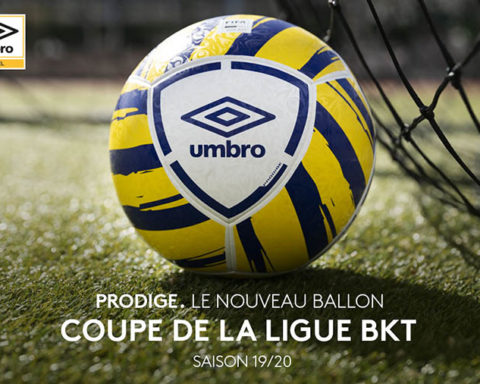 Umbro - Ballon de la Coupe de la Ligue BKT - Saison 2019-2020