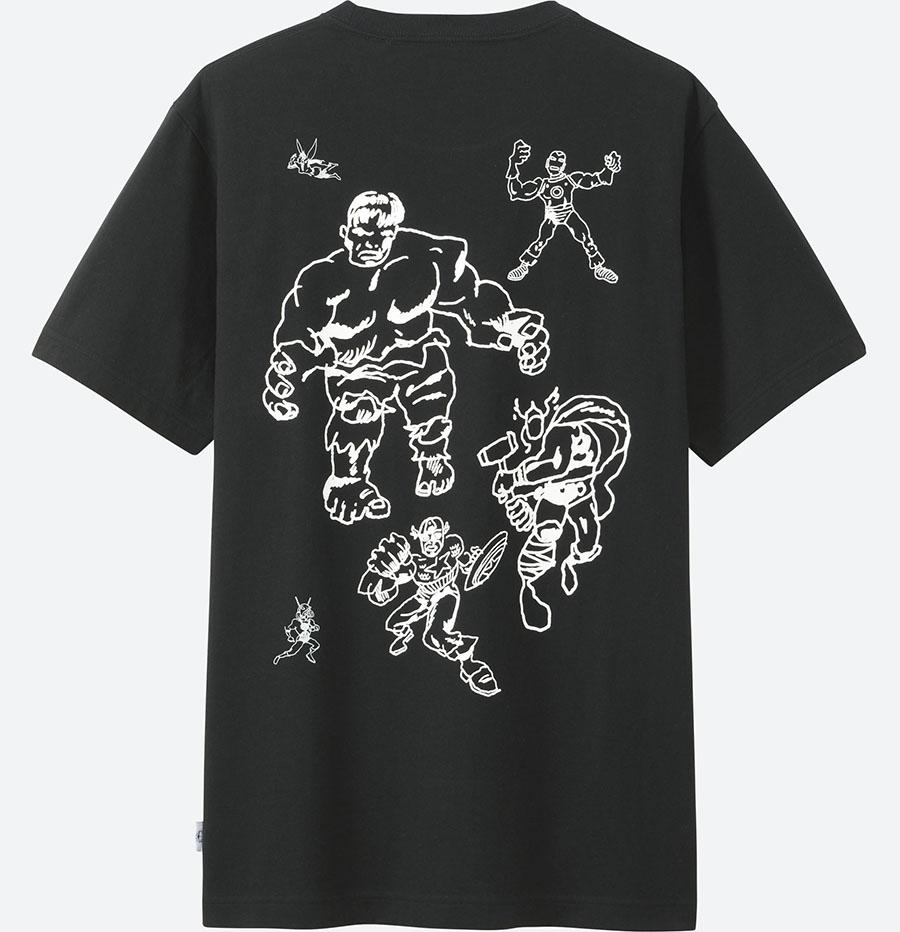 Avengers Endgame T-Shirts Uniqlo