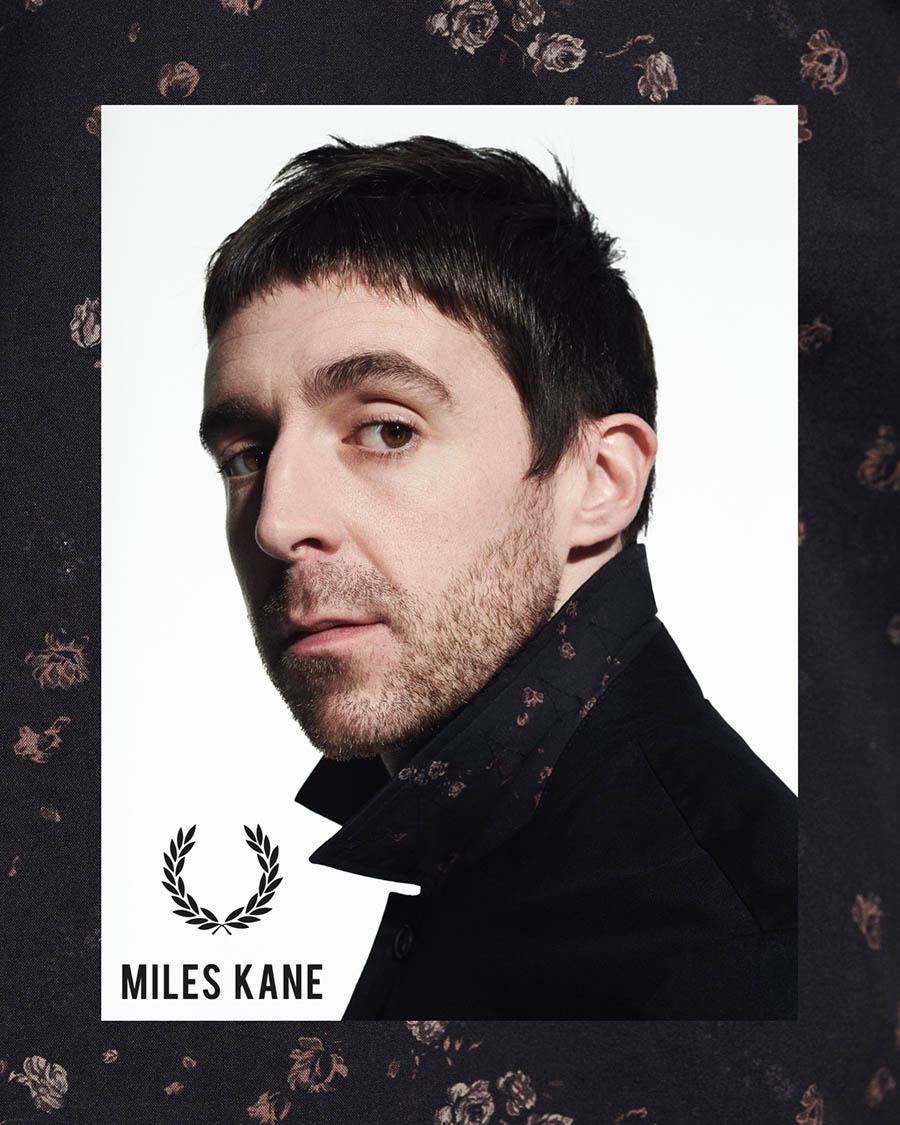 Fred Perry x Miles Kane Printemps-Été 2019