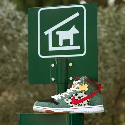 Nike SB Dunk Hi Walk The Dog
