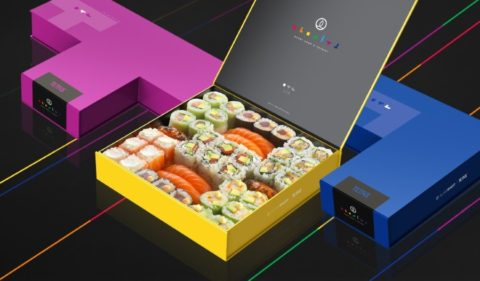 Sushi Box x Tetris