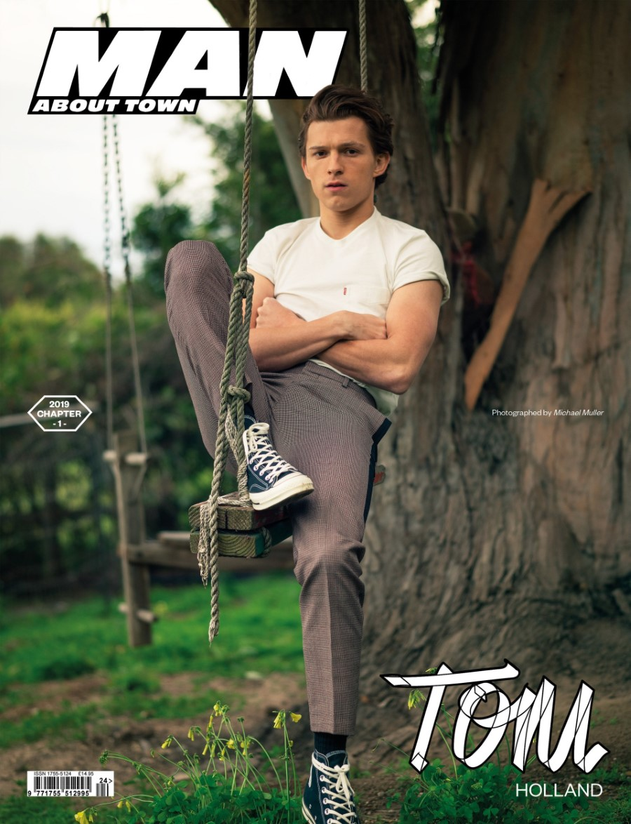 Tom Holland - MAN ABOUT TOWN Summer 2019