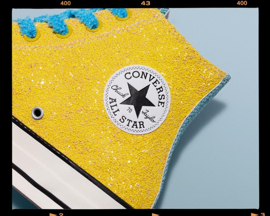 Converse x JW Anderson Glitter