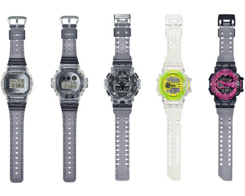 G-SHOCK Collection SEE-THRU TOUGH