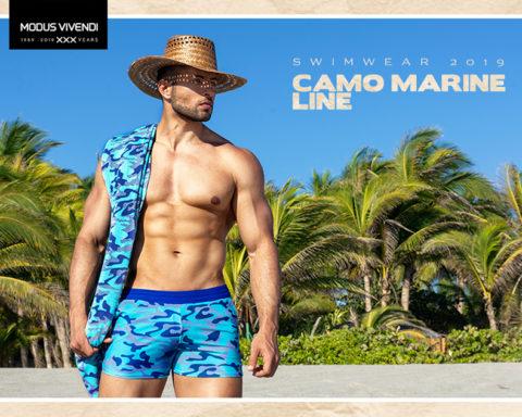Modus Videndi Camo Marine Line - Campagne Swimwear 2019