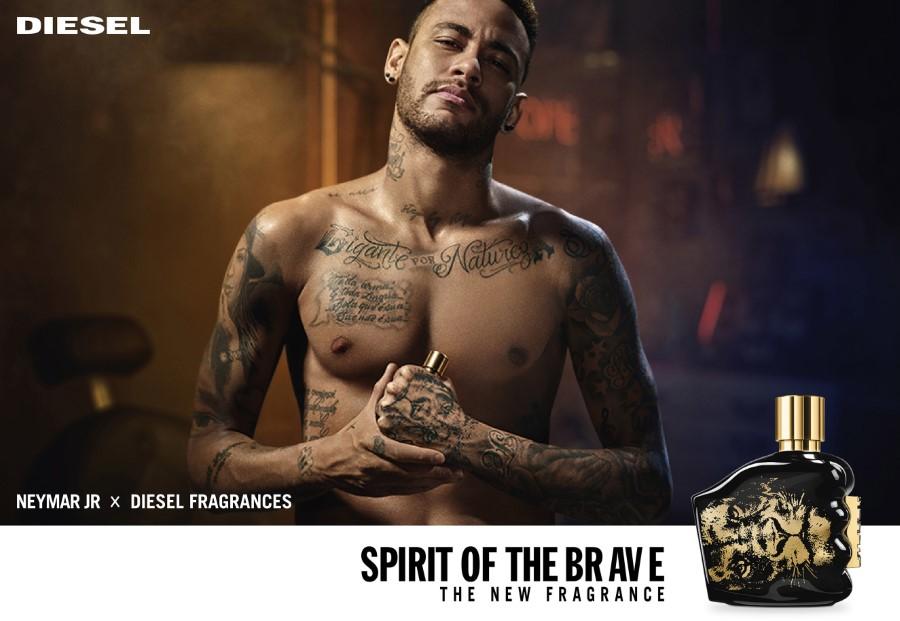 Neymar x Diesel - Spirit of the Brave