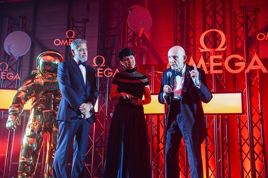 George Clooney, Belkys Nerey & Thomas Stafford