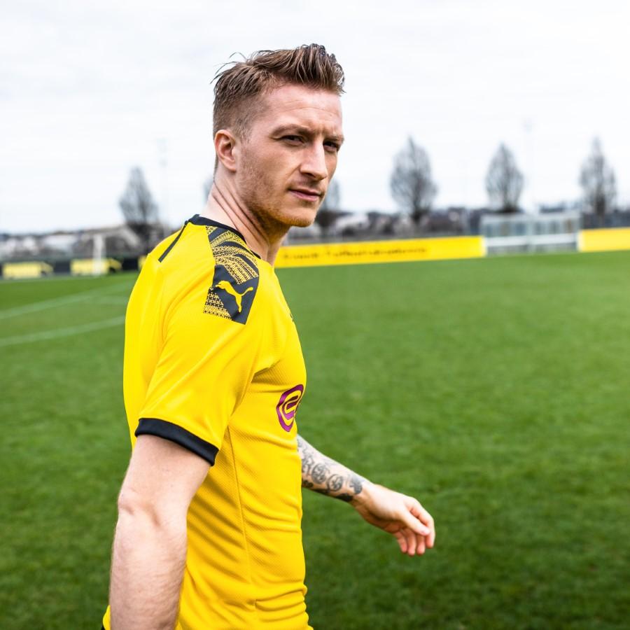 PUMA - Kit domicile Borussia Dortmund 110e anniversaire du club