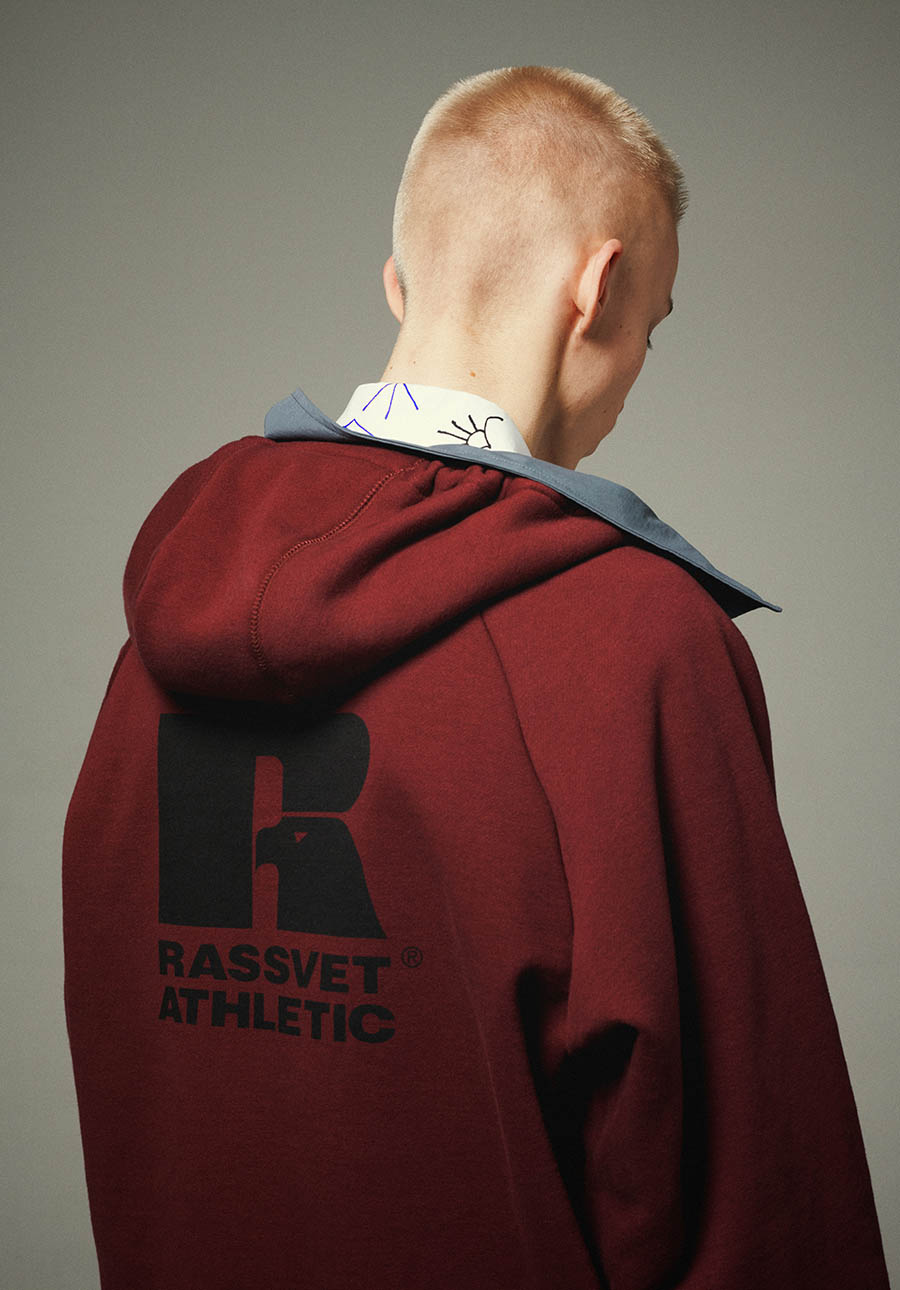 Russell Athletic x Rassvet