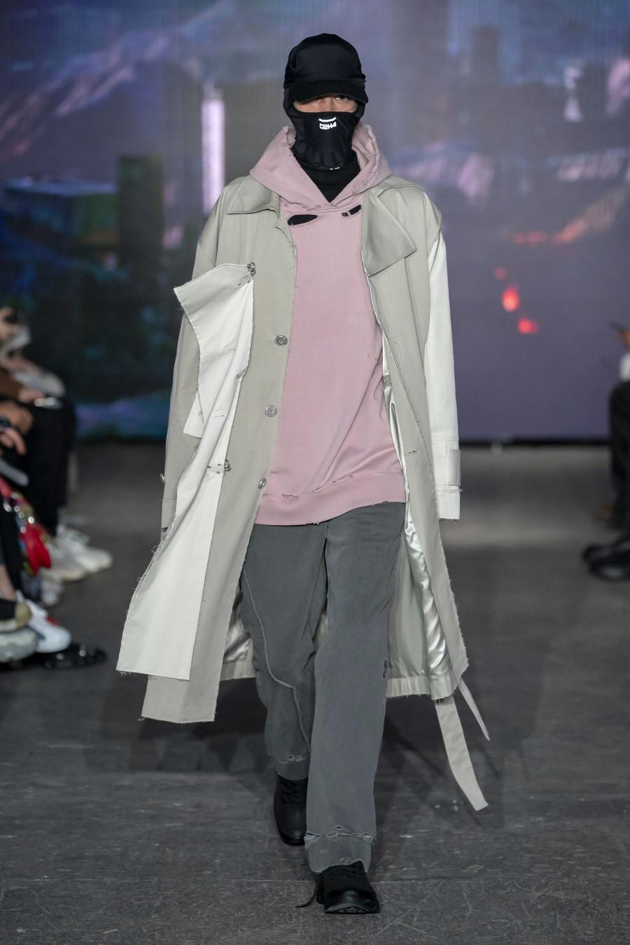 C2H4 – Printemps/Été 2020 – London Fashion Week Men's
