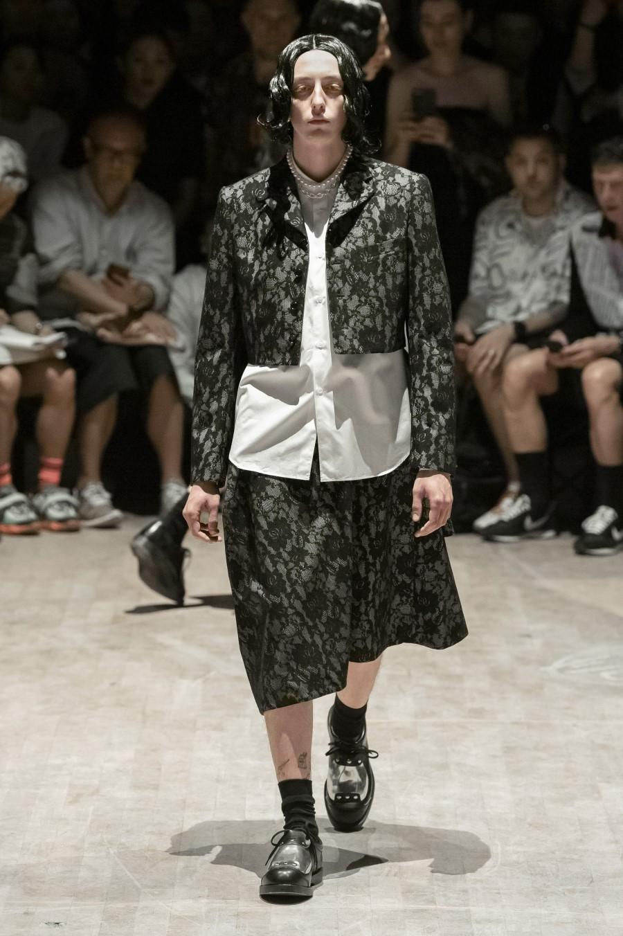 Comme des Garçons Homme Plus - Printemps-Été 2020 - Paris Fashion Week