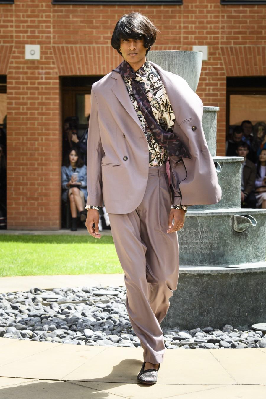 Edward Crutchley - Printemps-Été 2020 - London Fashion Week Men's