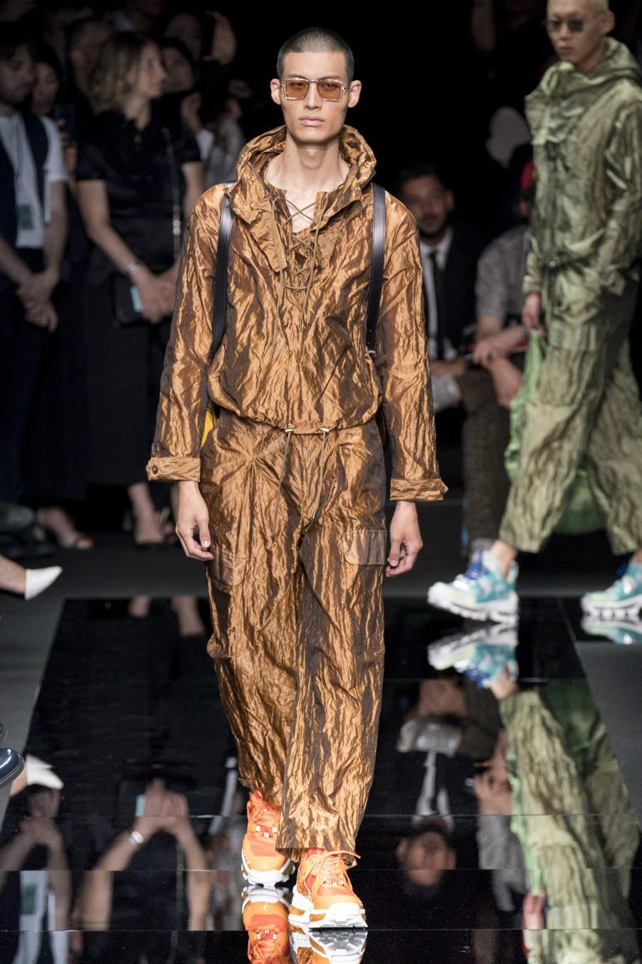 Emporio Armani – Printemps/Été 2020 – Milan Fashion Week Homme