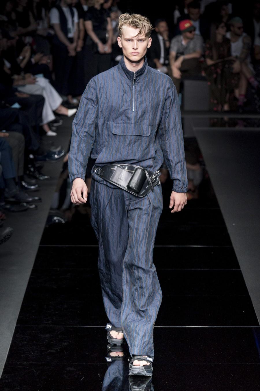 Emporio Armani - Printemps-Été 2020 - Milan Fashion Week