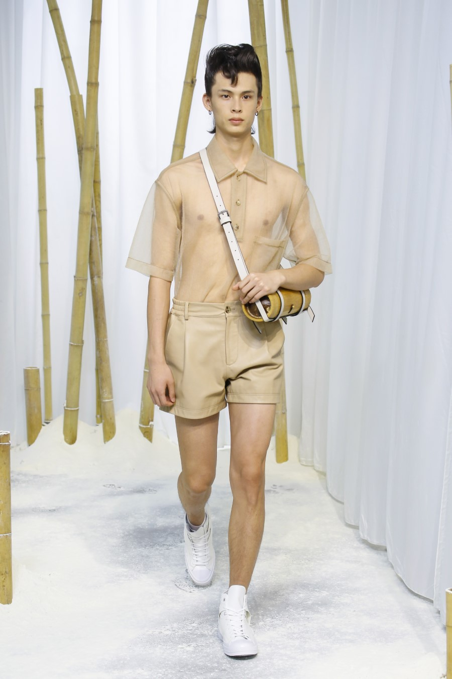 Feng Chen Wang Printemps Été 2020 - London Fashion Week Men's