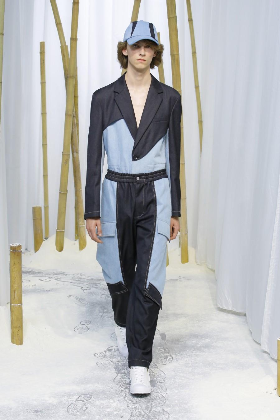 Feng Chen Wang Printemps Été 2020 London Fashion Week Men's 19