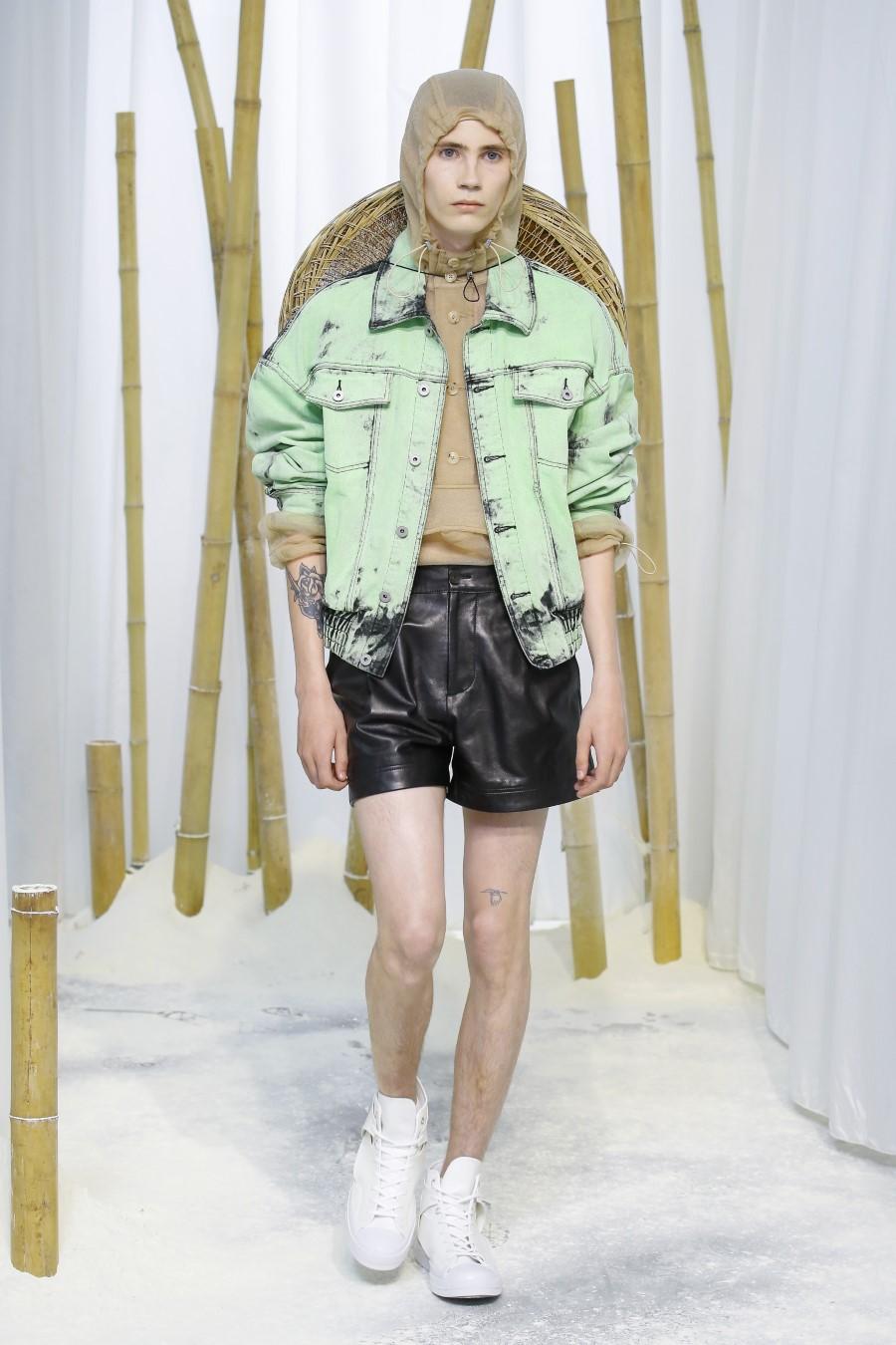 Feng Chen Wang Printemps Été 2020 - London Fashion Week Men's
