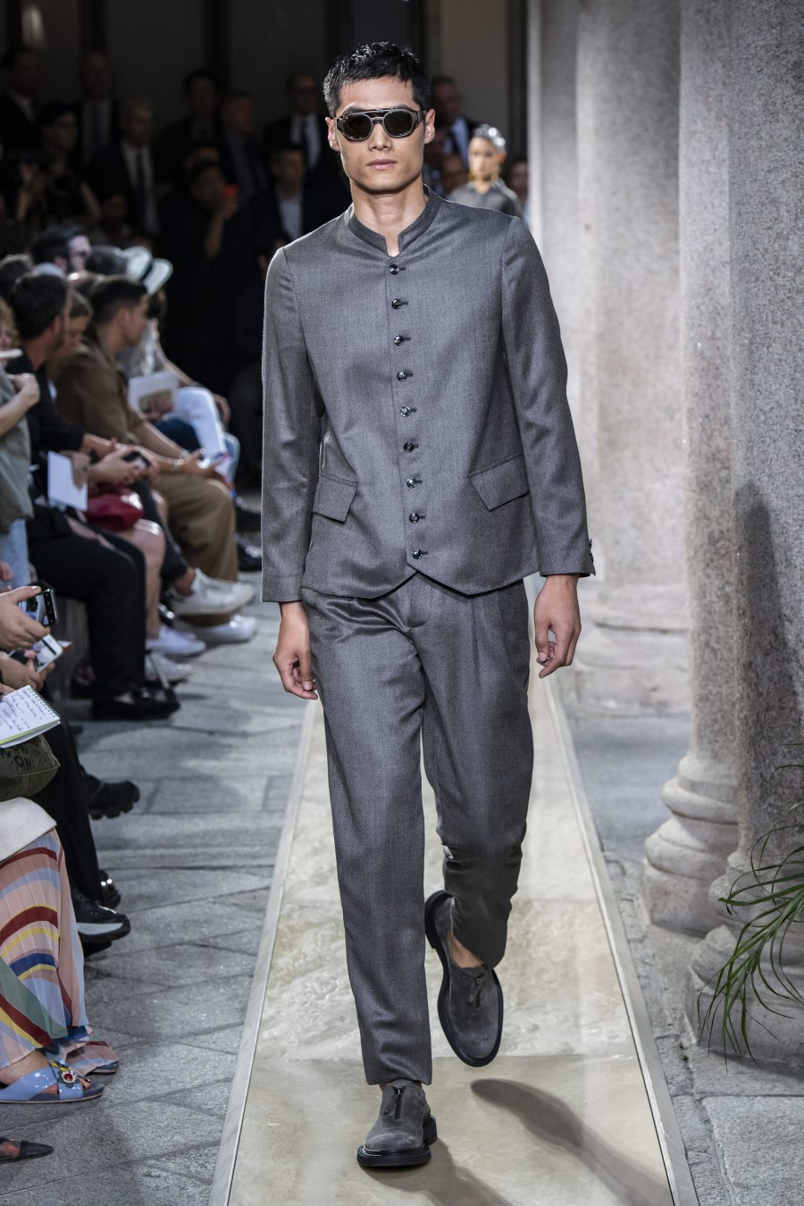 Giorgio Armani - Printemps-Été 2020 - Milan Fashion Week