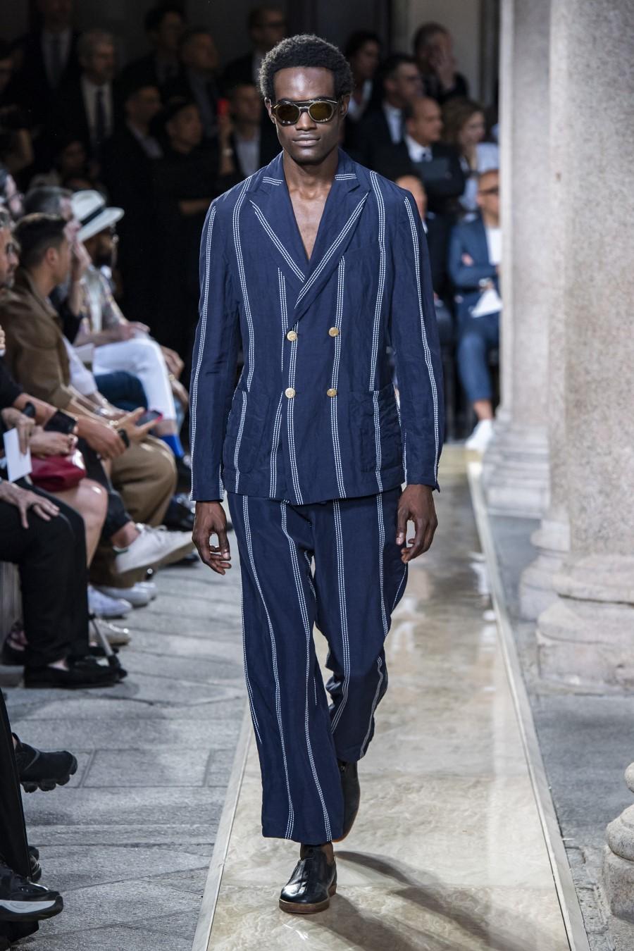 Giorgio Armani - Printemps-Été 2020 - Milan Fashion Week