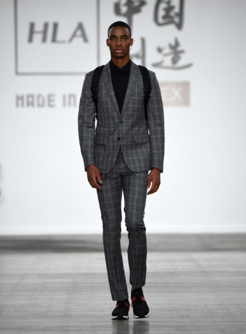 HLA x AEX by JD.com - Printemps-Été 2020 - London Fashion Week Men's
