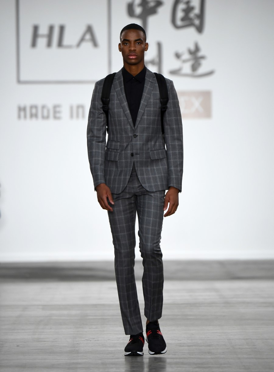HLA x AEX by JD.com - Printemps-Été 2020 - London Fashion Week Men's