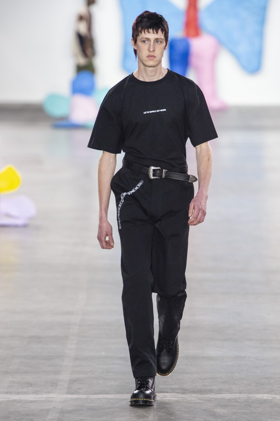 Liam Hodges - Printemps-Été 2020 - London Fashion Week Men's