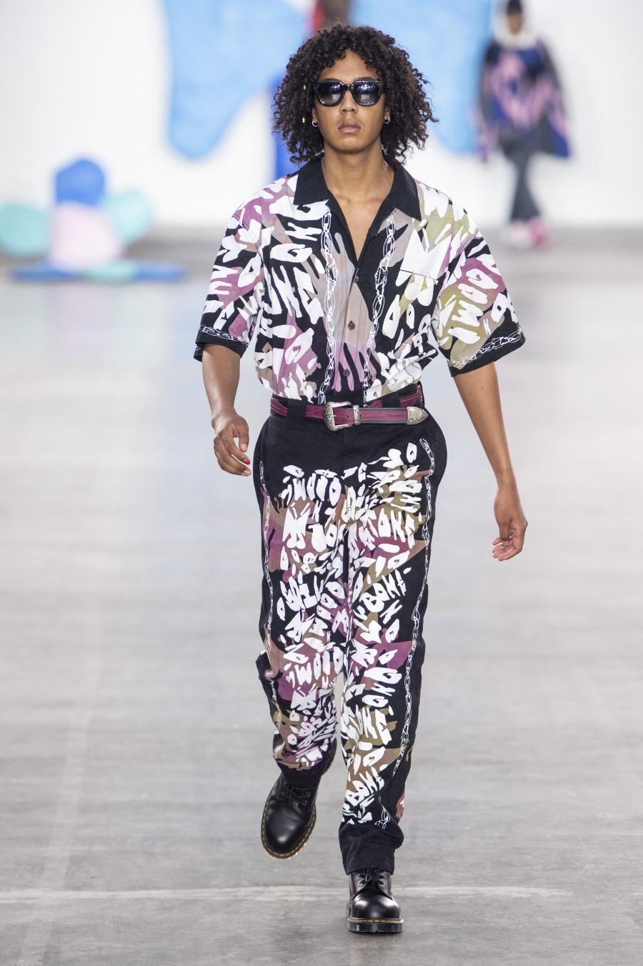 Liam Hodges - Printemps-Été 2020 - London Fashion Week Men's