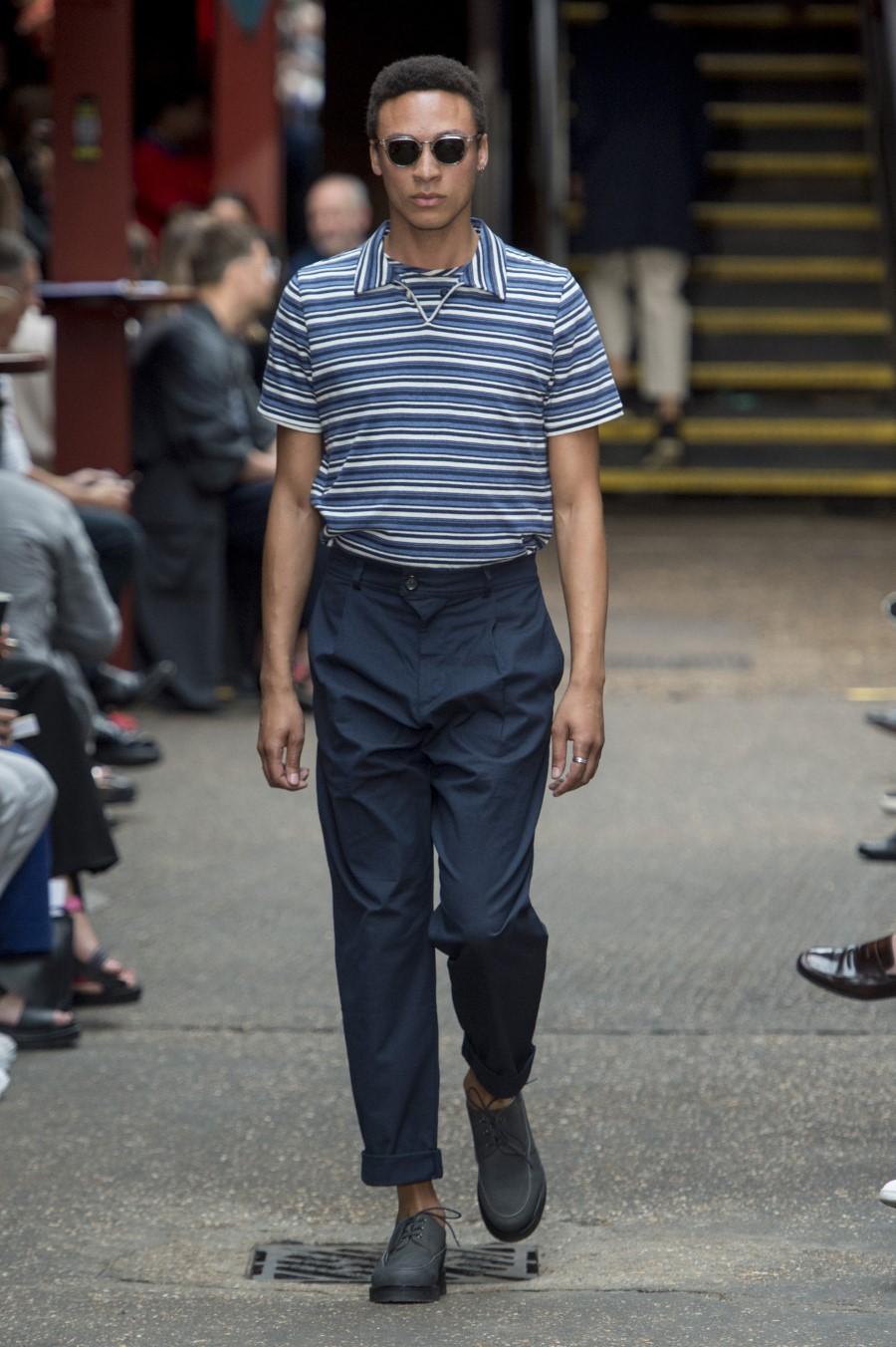 Oliver Spencer - Printemps-Été 2020 - London Fashion Week Men's