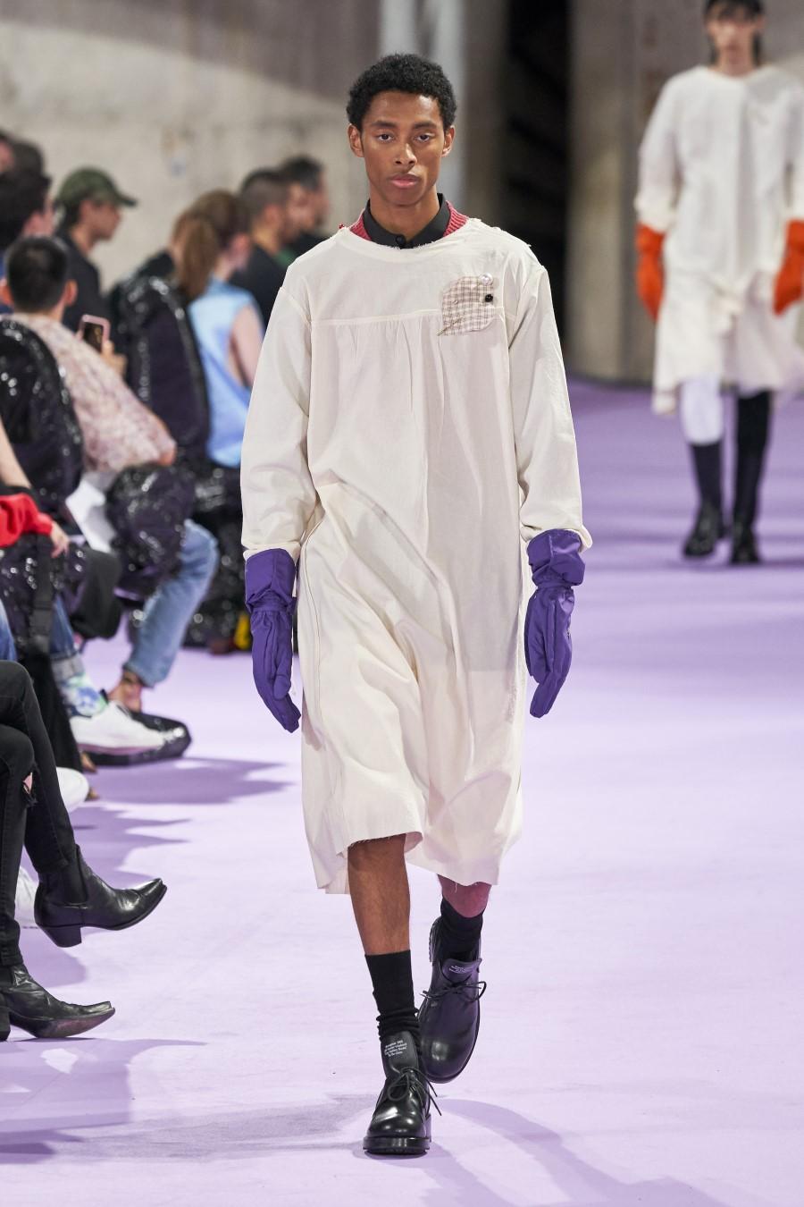 Raf Simons Printemps Été 2020 Paris Fashion Week 21