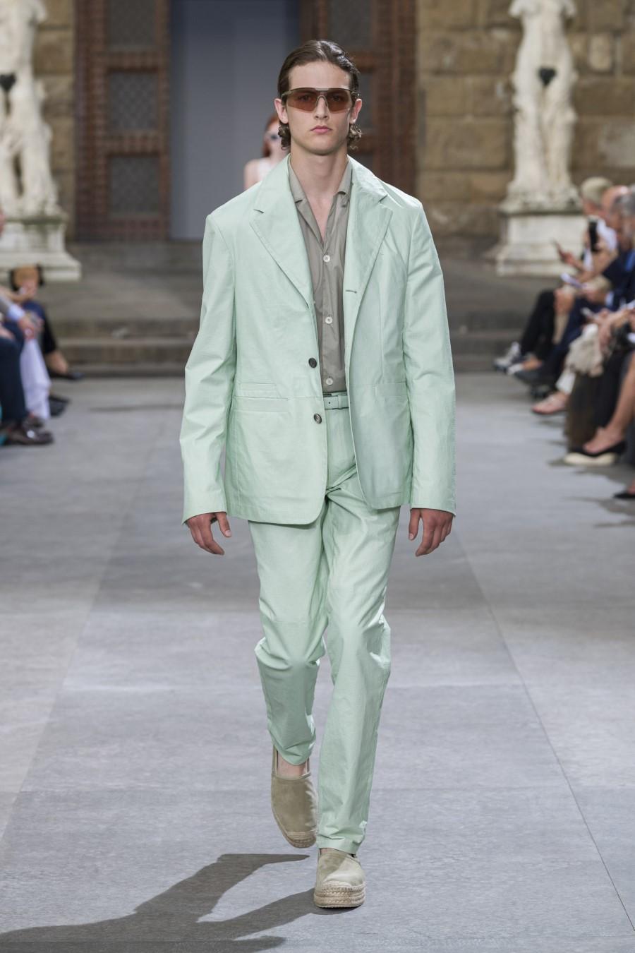 Salvatore Ferragamo - Printemps-Été 2020 - Pitti Uomo