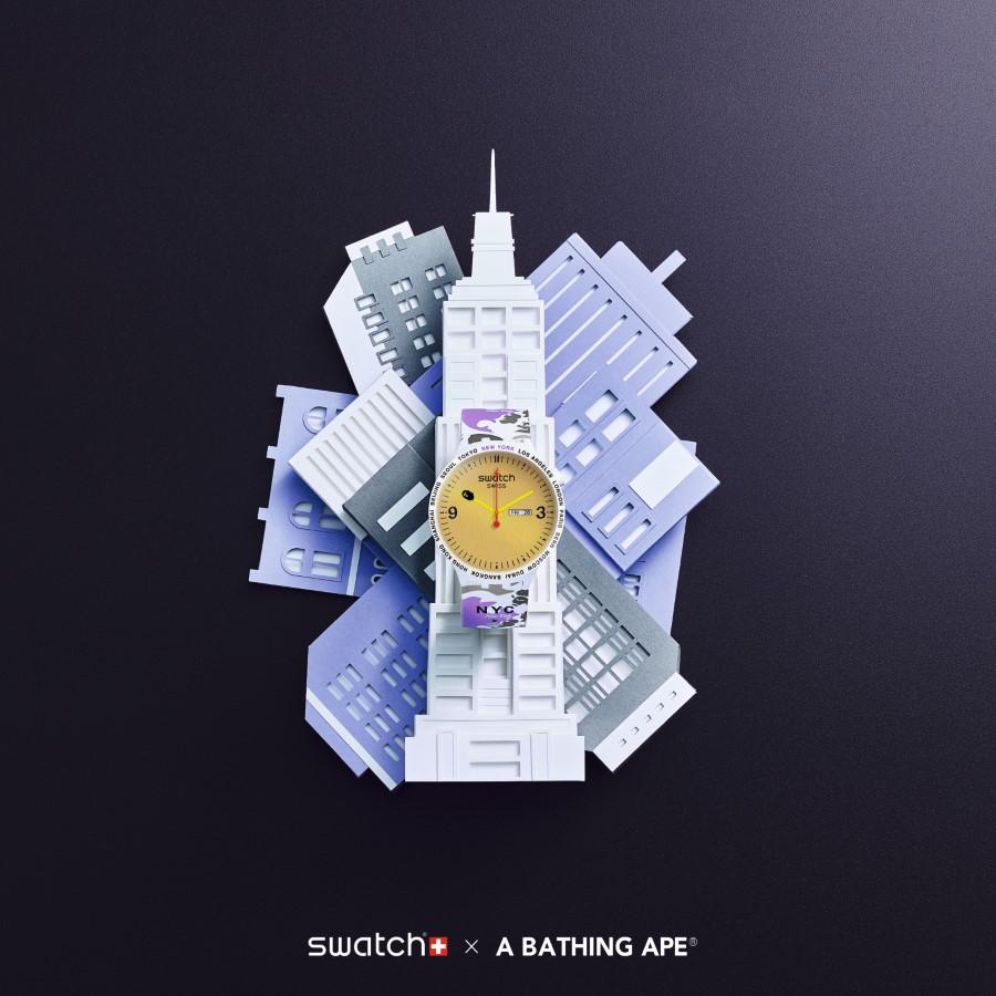 Swatch x Bape Cities New York
