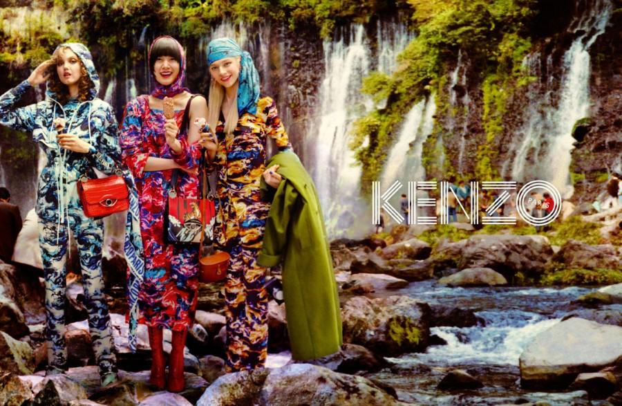 KENZO Campagne Automne-Hiver 2019 par David LaChapelle
