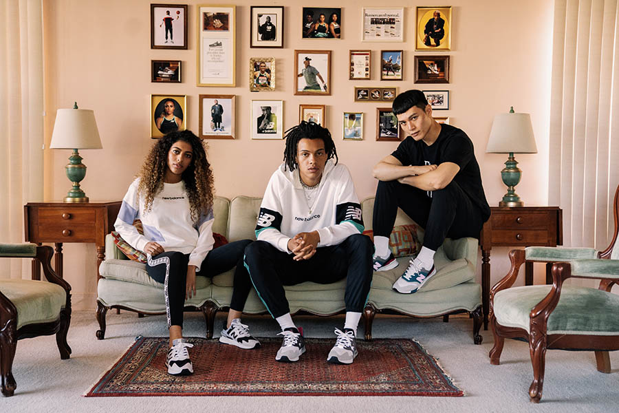 New Balance Campagne Runs in the Family