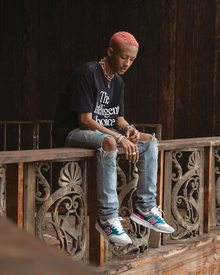 New Balance x Jaden Smith - Campagne Runs in the Family
