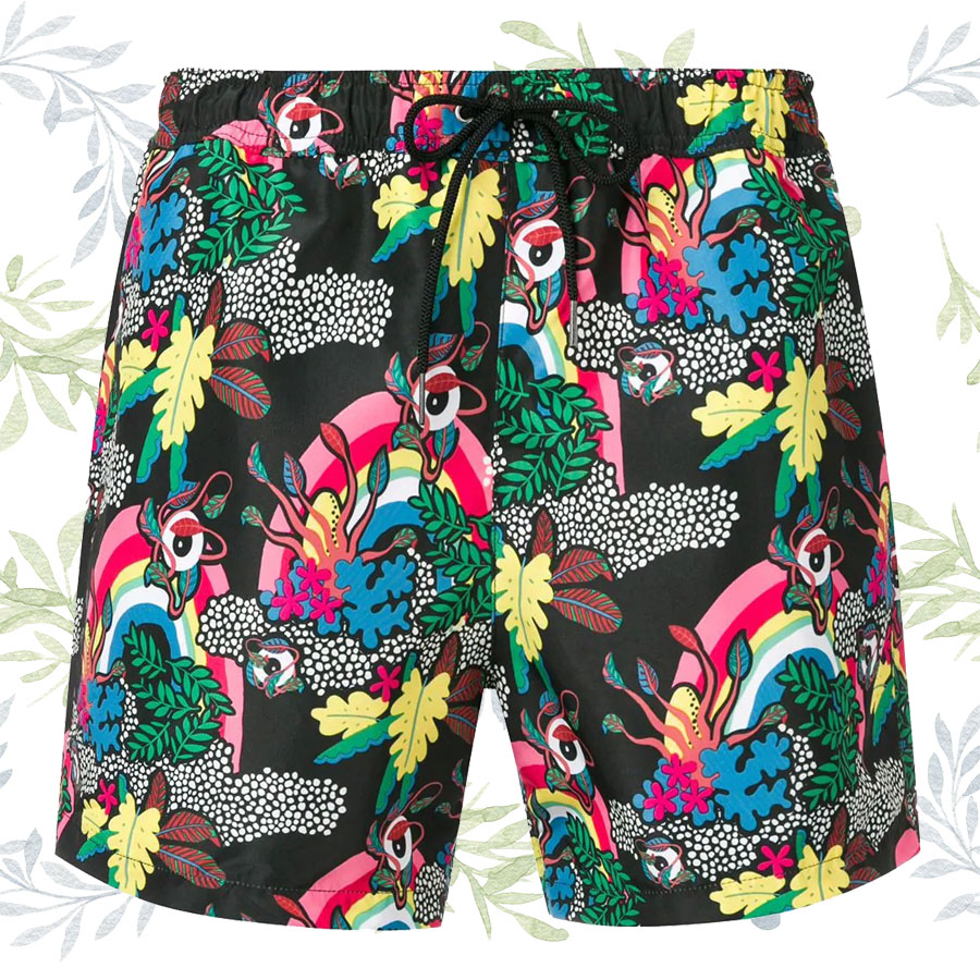 Tendance ÉTÉ 2019 - Beachwear Flowers PAUL-SMITH