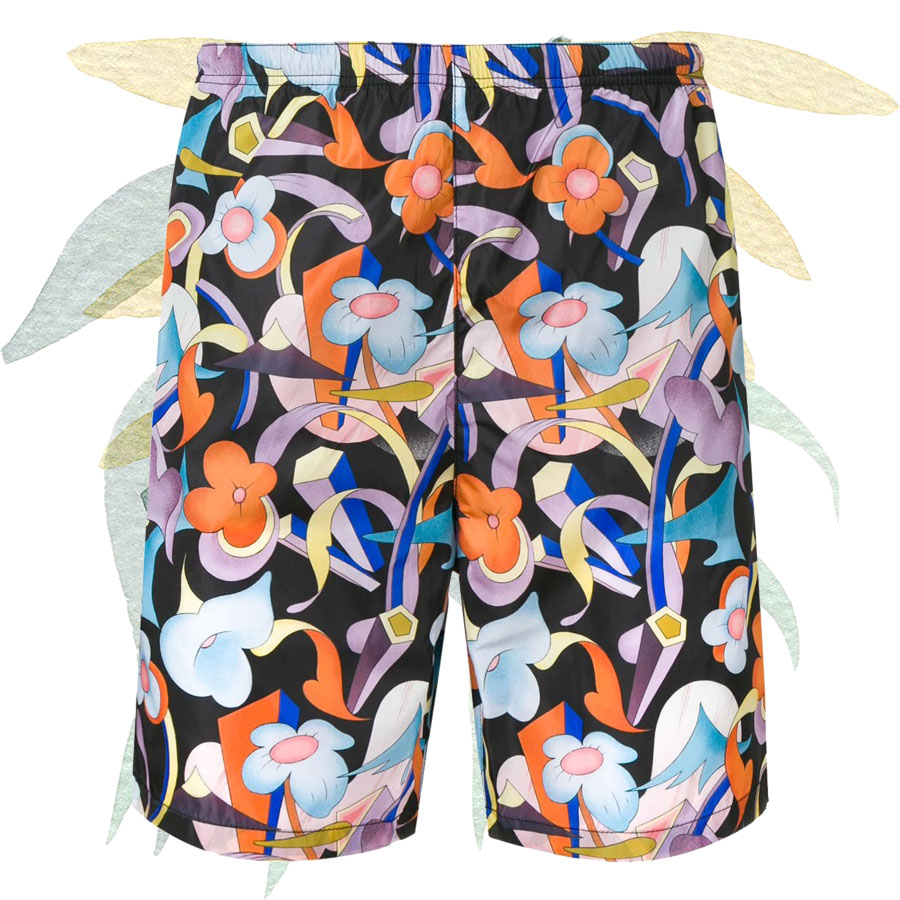 Tendance ÉTÉ 2019 - Beachwear Flowers PRADA