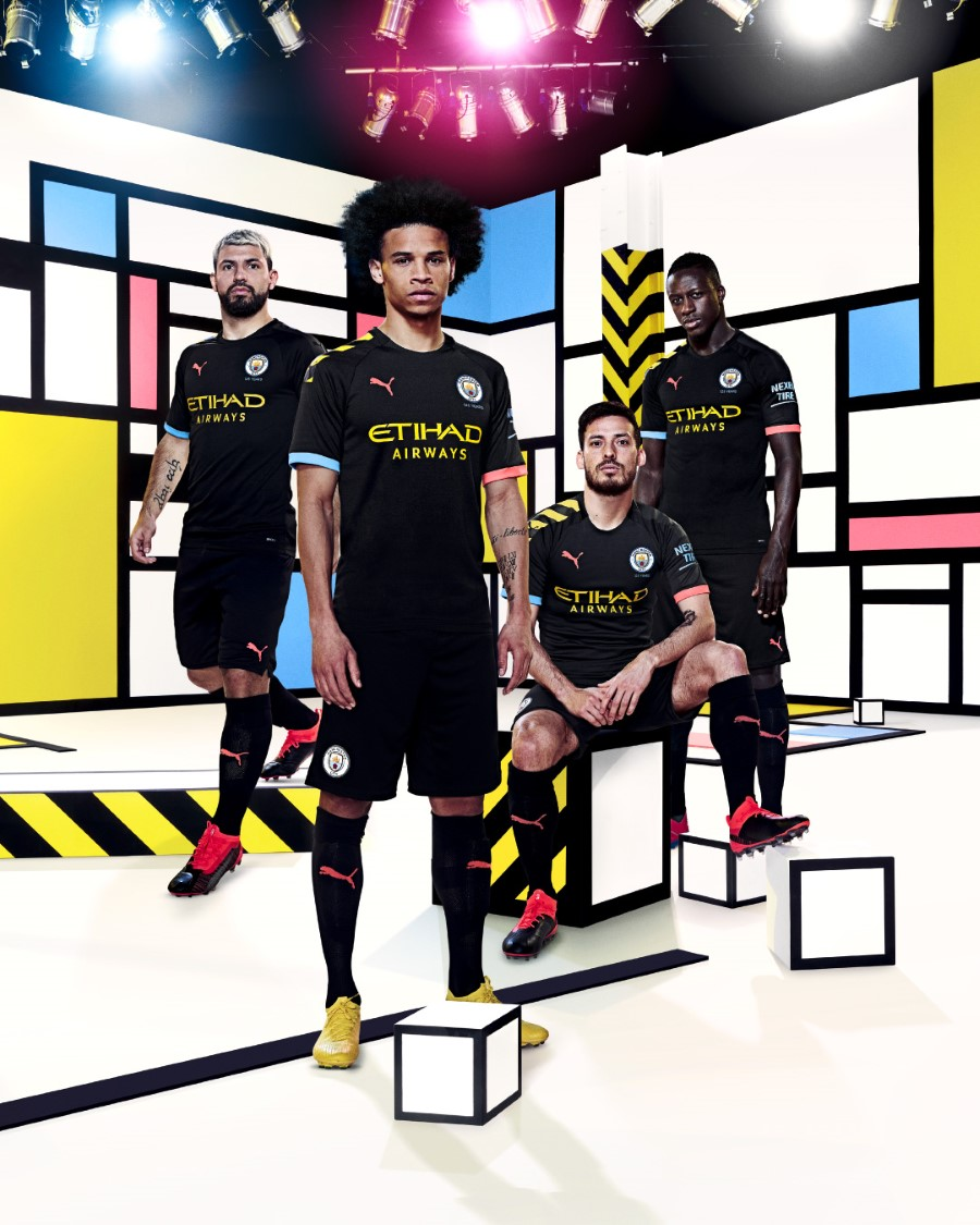 PUMA Football x Manchester City Away Kit 2019-2020