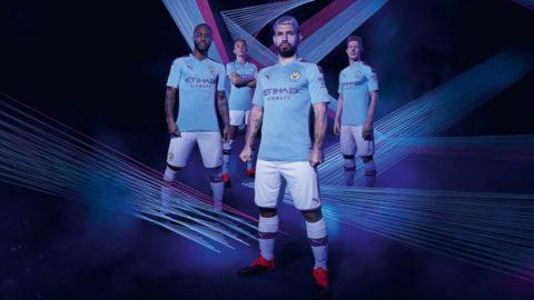 PUMA Football x Manchester City Home Kit 2019-2020