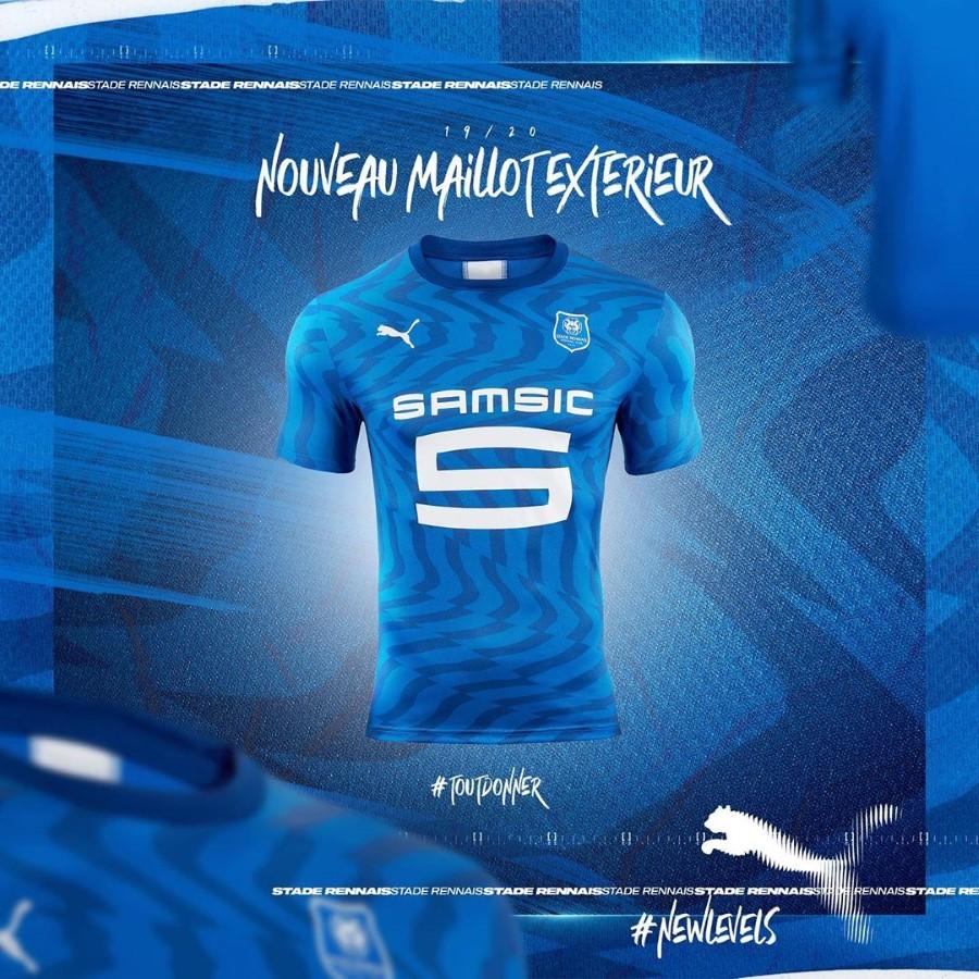 PUMA Football x Stade Rennais F.C - Kit Extérieur Saison 2019-202