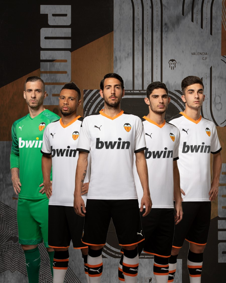 PUMA Football x VALENCIA CF Saison 2019-2020 - Home Kit