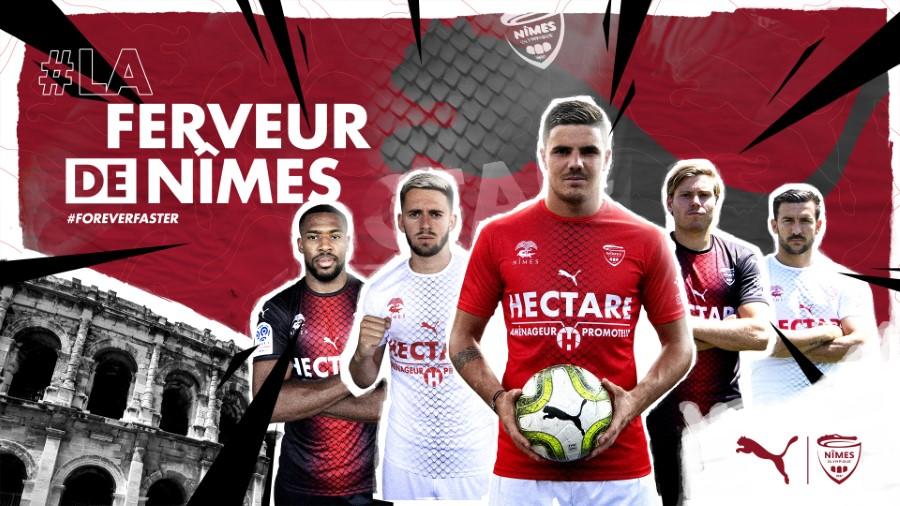 PUMA x Nîmes Olympique - Saison 2019-2020