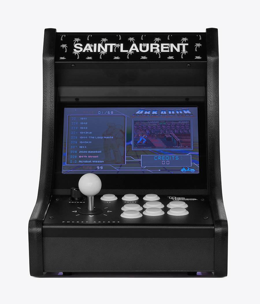 Saint Laurent Rive Droite Collection goodies 006 - Borne Arcade