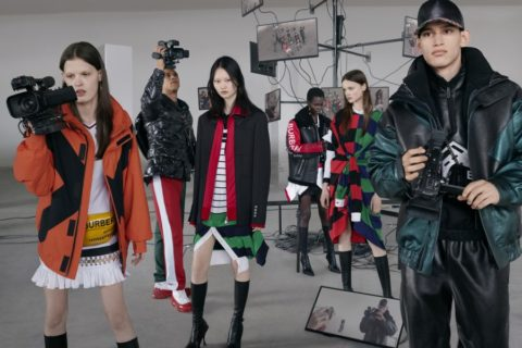Burberry Campagne Automne-Hiver 2019