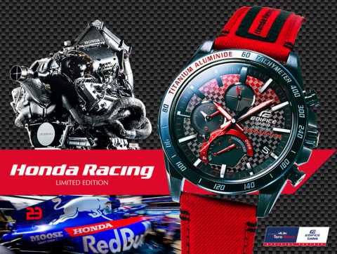 CASIO Edifice x Honda Racing