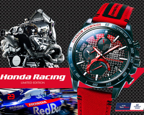CASIO Edifice x Honda Racing