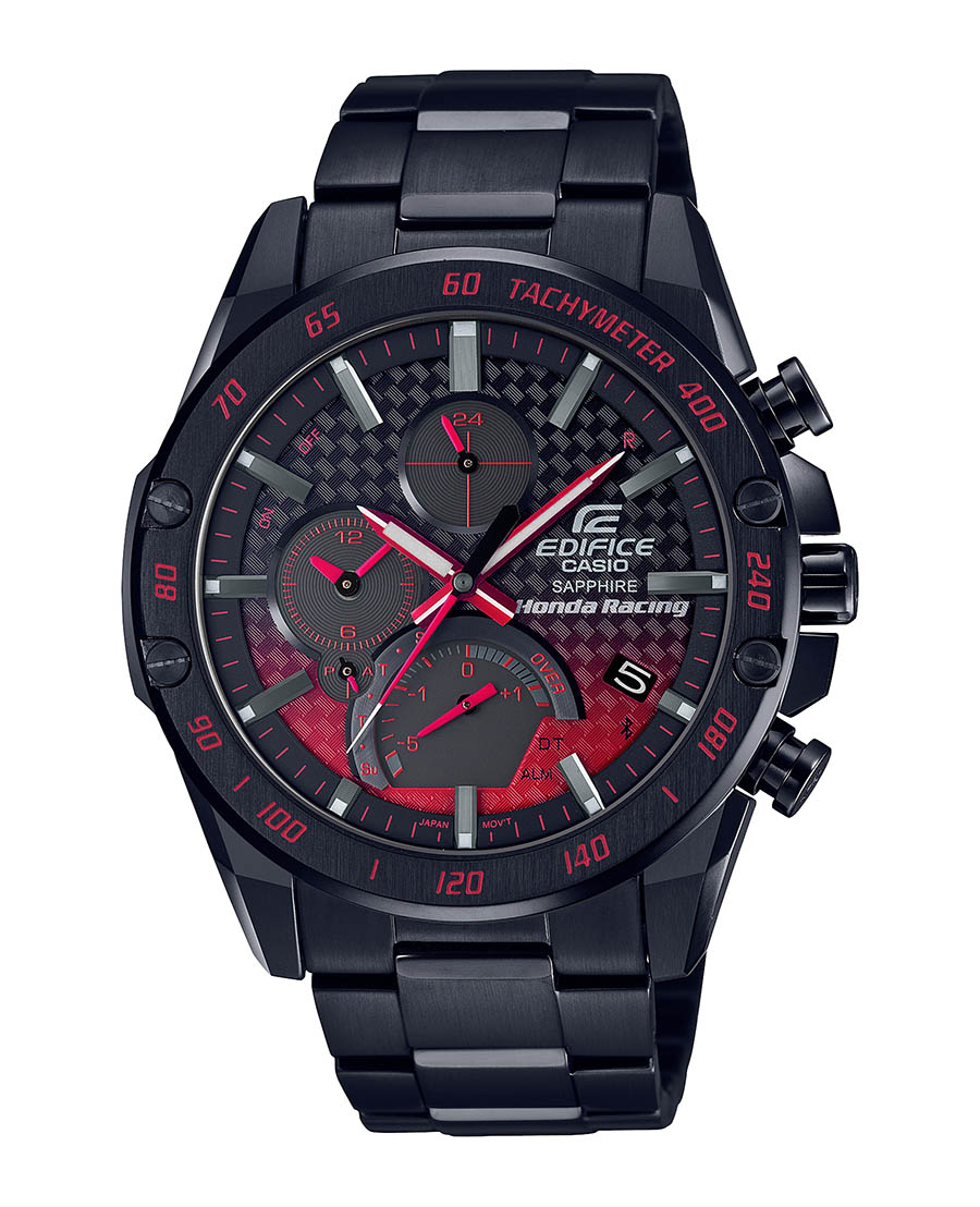 CASIO Edifice x Honda Racing EQB-1000HR