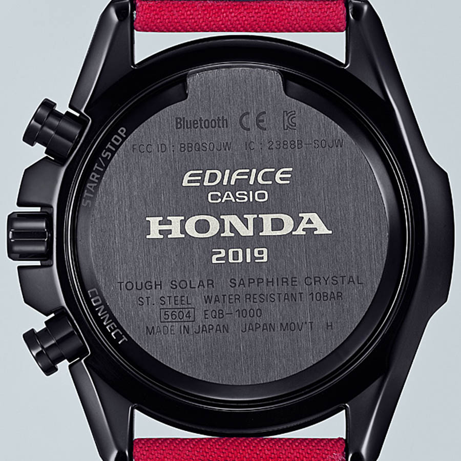 CASIO Edifice x Honda Racing EQB-1000HRS