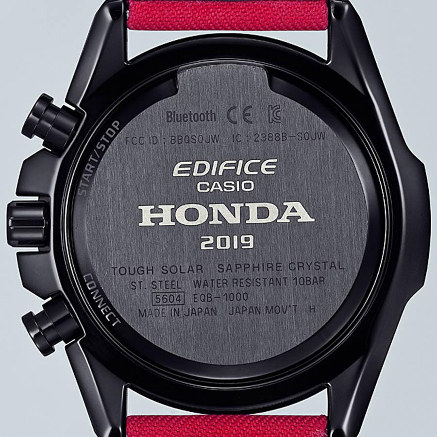 CASIO Edifice x Honda Racing EQB-1000HRS
